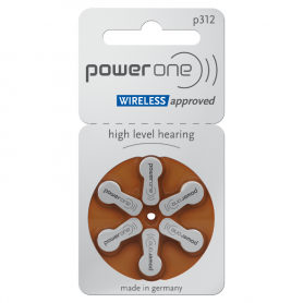PowerOne P312 Hearing Aid Batteries