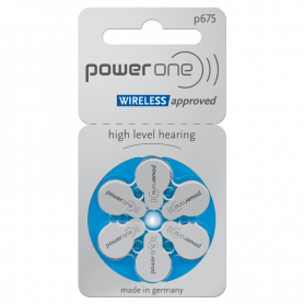 PowerOne 675 Hearing Aid Batteries P675
