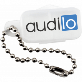 Audilo hearing aid battery keyring
