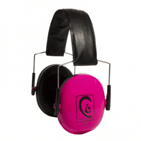 casque antibruit rose
