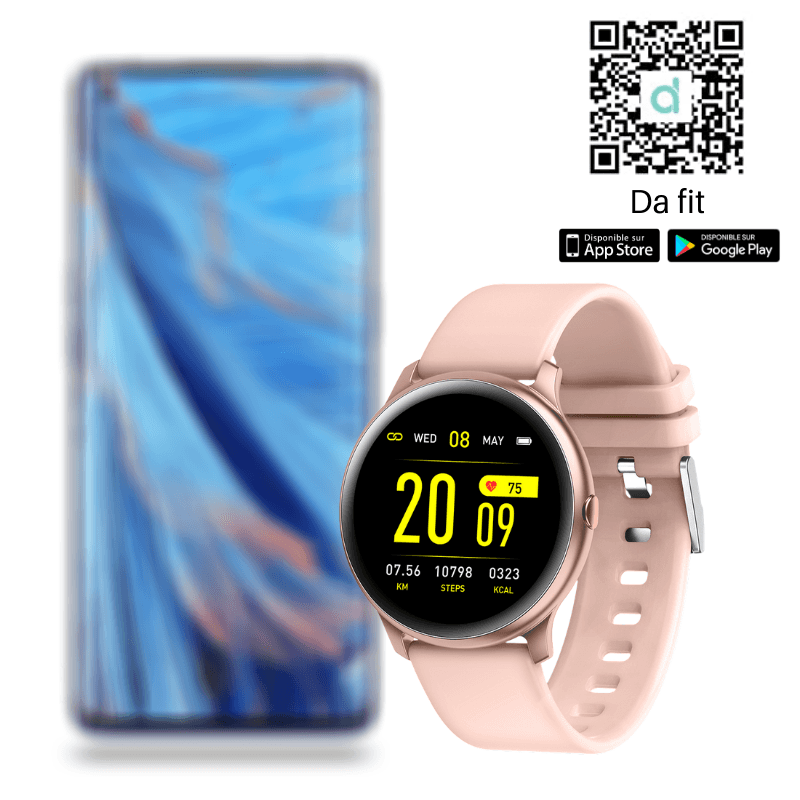 neon vibrating smart watch with alarm and Bluetooth