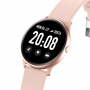 Maxcom Fit FW32 neon pink vibrating smart watch with alarm and Bluetooth